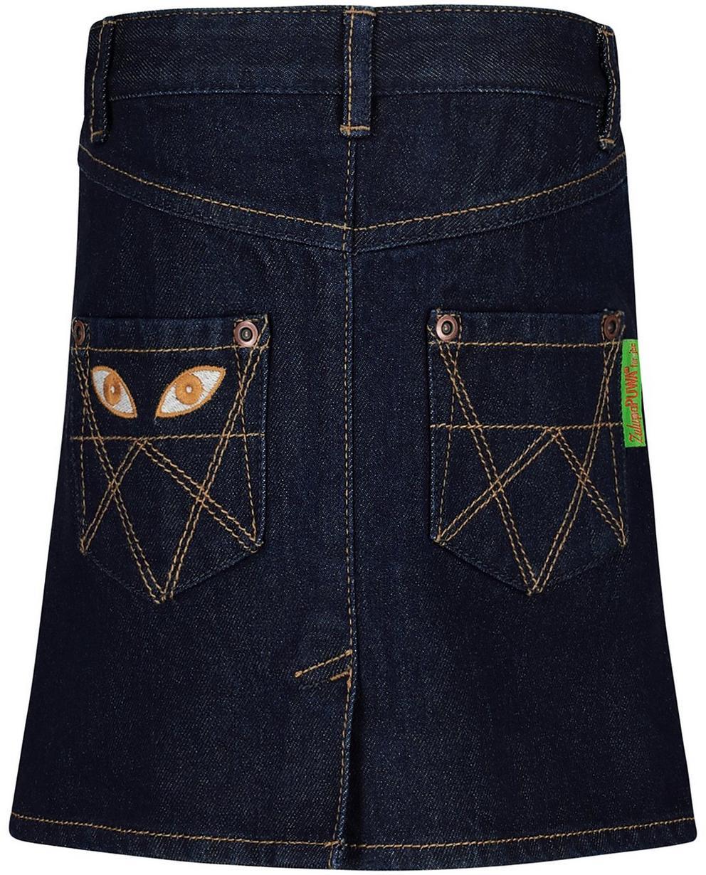 Rokken - BLD - Nachtblauwe jeansrok
